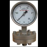 đồng hồ đo áp suất mặt 100mm inox