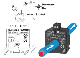 biến dòng analog 4-20mA T201DC
