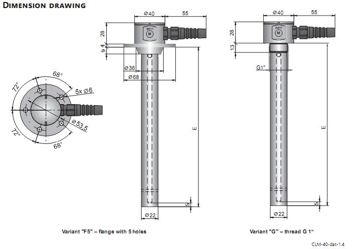 cảm biến đo mức dầu Diesel