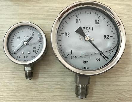 đồng hồ đo áp suất nước stiko