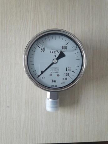 Đồng hồ đo áp suất thủy lực 0-160bar