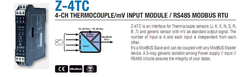 Chuyển đổi tín hiệu mV sang Modbus RTU