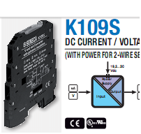 Cách ly tín hiệu Analog 4-20mA, 0-10V K109S