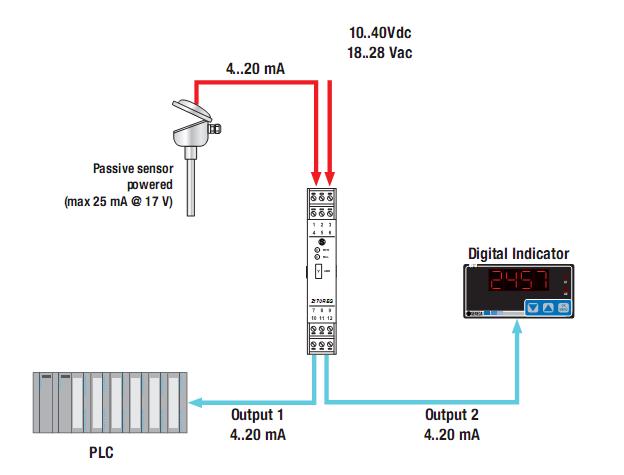 Chuyển đổi tín hiệu nhiệt độ PT100 sang 4-20mA