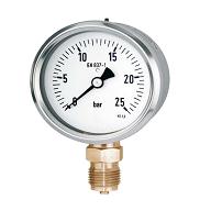 Đồng hồ đo áp suất chân đồng