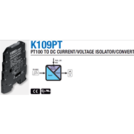 Chuyển đổi tín hiệu PT100 ra 4-20mA, 0-10v K109PT