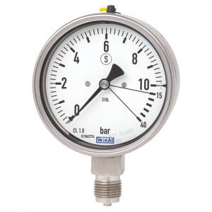 đồng hồ đo áp suất chân đứng