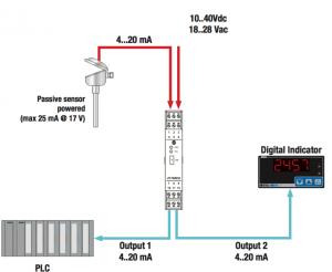 ứng dụng bộ chuyển đổi tín hiệu Z170REG