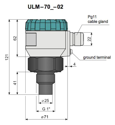 cảm biến đo mức nước ULM 70-02