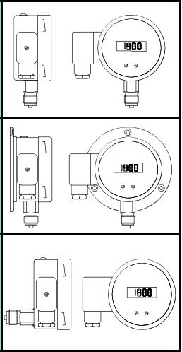 Đồng hồ cảm biến áp suất điện tử