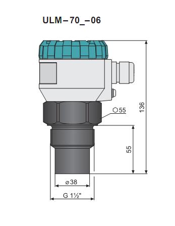 Cảm biến đo mức nước 0-6m