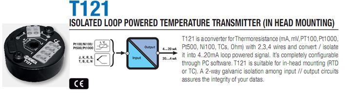 Chuyển đổi tín hiệu nhiệt độ, TC K