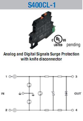 Bộ chống sét tín hiệu analog 4-20mA