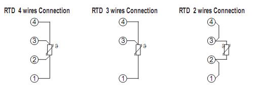 Cảm biến đo nhiệt độ PT100 loại dây RLR