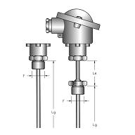 Cảm biến đo nhiệt độ PT100 loại RTS