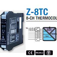 Chuyển đổi 8 kênh thermocouple sang Modbus