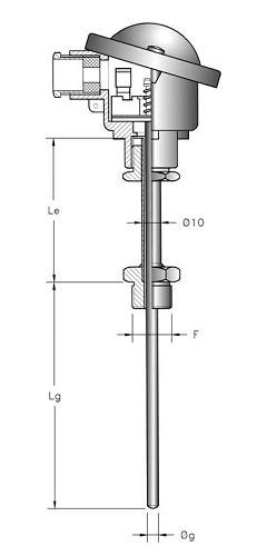 Các loại can nhiệt PT100