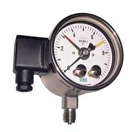Đồng hồ đo áp suất 3 kim Stiko - Hà Lan