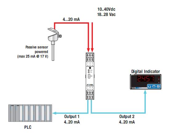 Bộ chia tín hiệu 0-10v