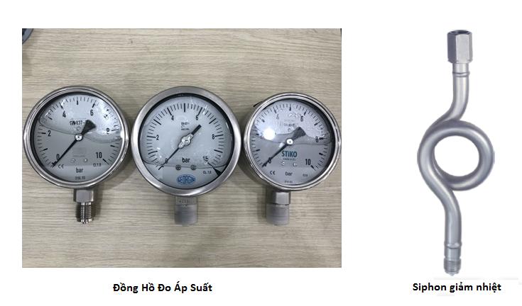 Đồng hồ đo áp suất lò hơi