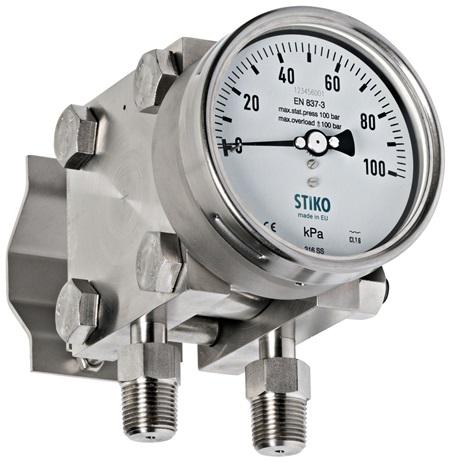 Đồng hồ đo chênh lệch áp suất