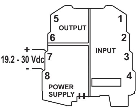 Bộ chuyển đổi cách ly tín hiệu 4-20mA