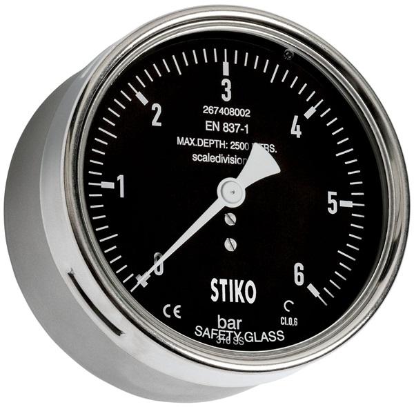 Đồng hồ áp suất chống nước