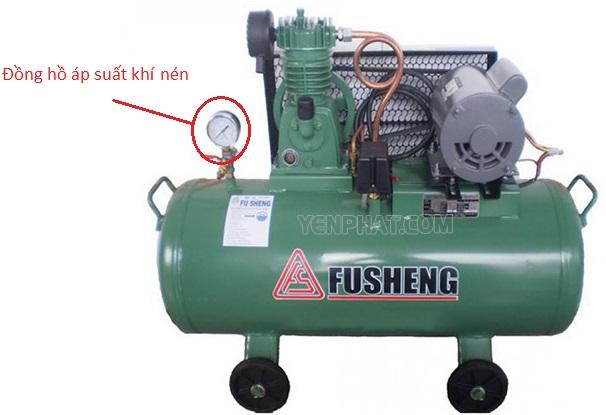 Đồng hồ áp suất máy nén khí