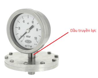 Đồng hồ áp suất thấp dạng màng