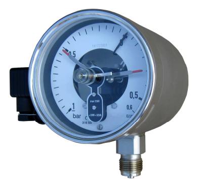 Đồng hồ áp suất 3 kim âm dương