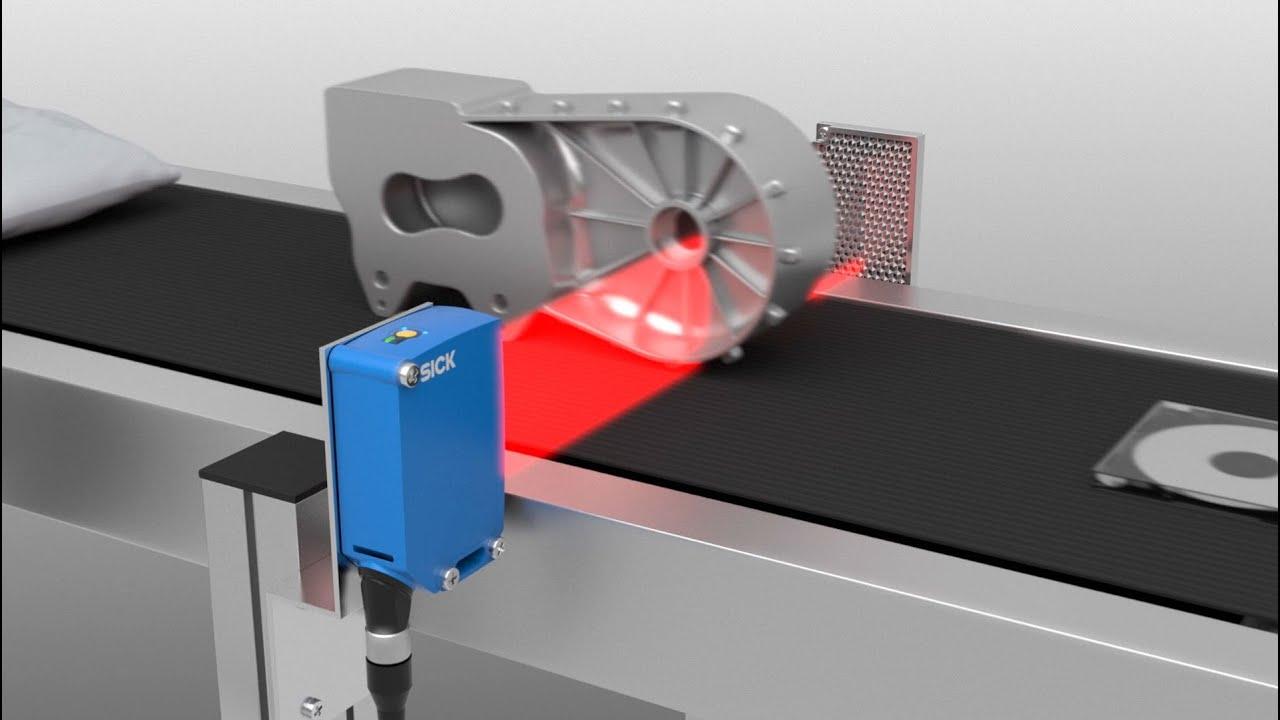 Ứng dụng cảm biến quang phản xạ gương