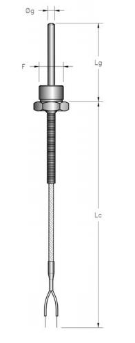 Đầu dò nhiệt loại K TLR