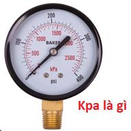 Đồng hồ áp suất kpa
