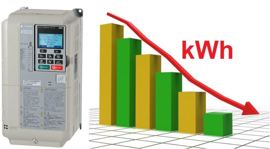 Ứng dụng biến tần tiết kiệm điện