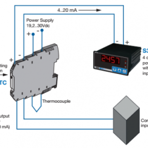 Bộ chuyển đổi thermocouple sang 4-20mA