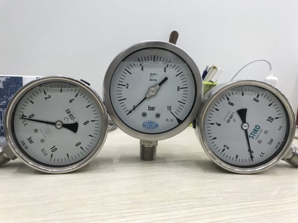 Đồng hồ áp suất 0-10bar