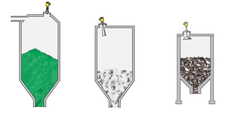 Cảm biến đo Vega mức xi măng